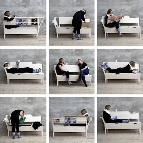 Kitchen Sofa by Emma Nilsson, Johanna Westin and Lisa Frode
