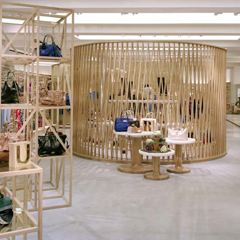 Mulberry New Bond Street store by Universal Design Studio