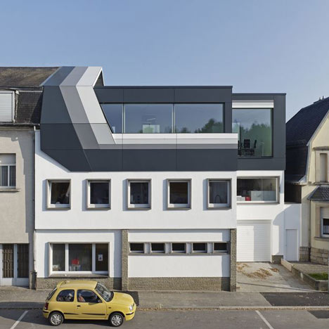 Rooftop Office Dudelange by dagli