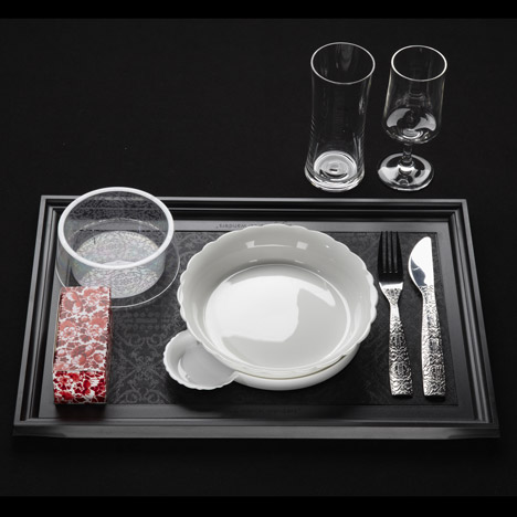 Tableware by Marcel Wanders for KLM