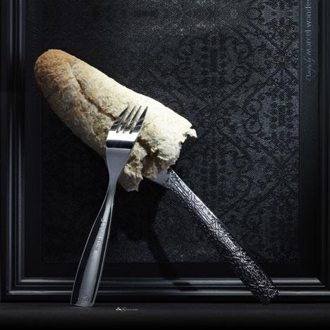 Tableware by Marcel Wanders for KLM