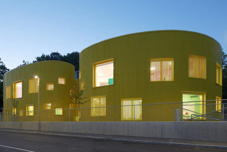 Tellus nursery school by Tham and Videgard Arkitekter