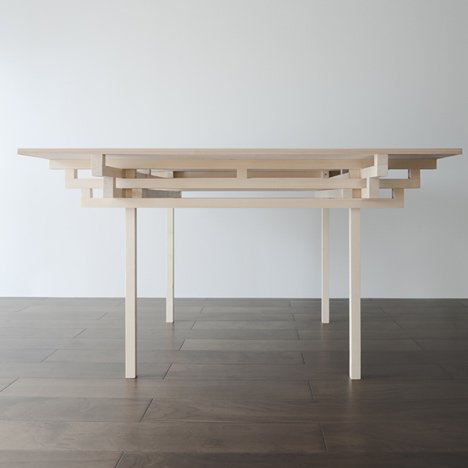 Temple Table by Hiroyuki Tanaka