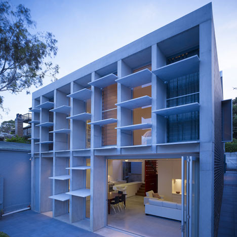 Balmain House by Carter Williamson Architects