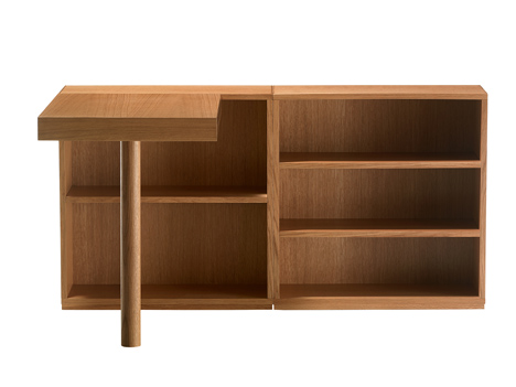 Authentic Wood by Le Corbusier at Cassina