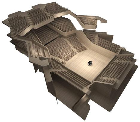 Caracas Symphony Complex by ADJKM Arquitectos