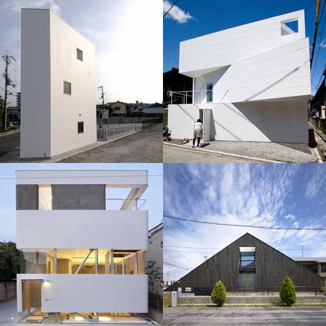 Dezeen archive - Japanese houses
