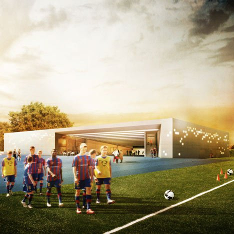 FCB Youngster Campus by Luca Selva Architekten