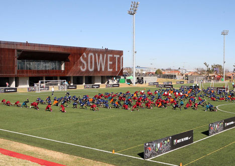 Football Training Centre Soweto by RUFproject