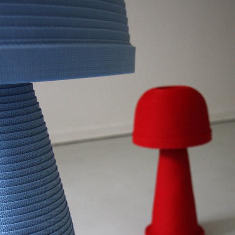 Fungi Lamp by Andreas Kowalewski