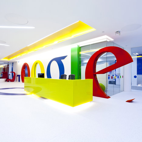Google office by Scott Brownrigg Interior Design