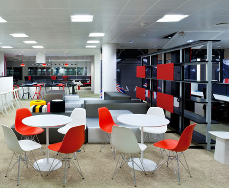 G Google Office By Scott Brownrigg Interior Design