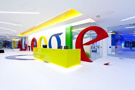 google room designer on Google Office By Scott Brownrigg Interior Design