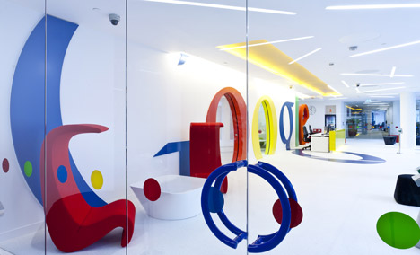 Google Office By Scott Brownrigg Dezeen