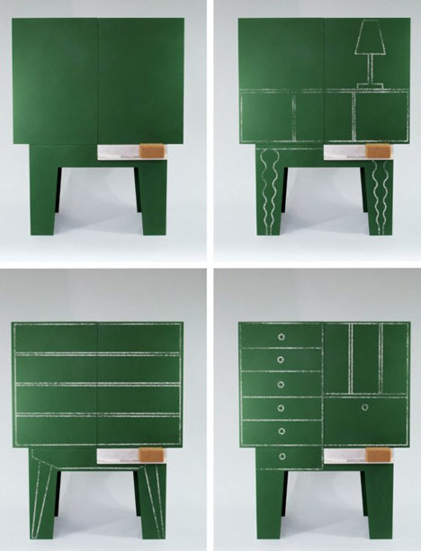 Primary Cabinet by Peter Jakubik