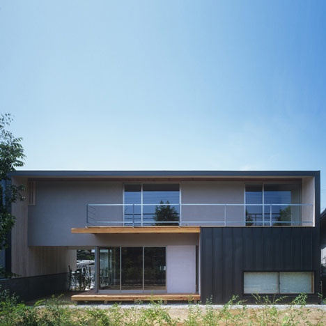 House in Kobe by Keiichi Sugiyama Architect