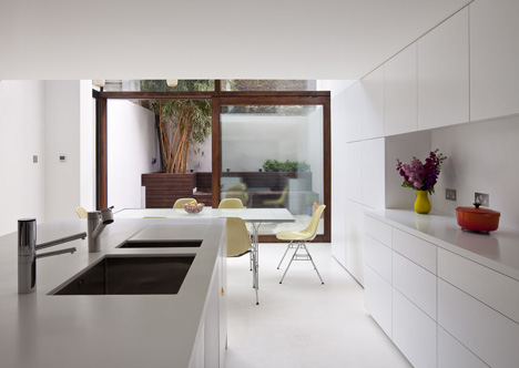 Hoxton House by David Mikhail Architects