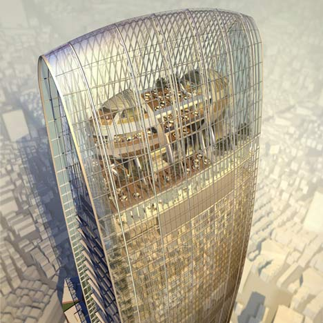 Kingkey Finance tower by Farrells