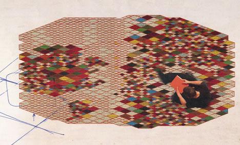 Losanges by Ronan & Erwan Bouroullec