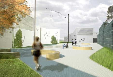 New Danish State Prison by C. F. Moller Architects