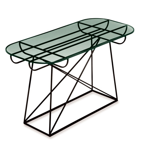 Pylone tables by Linn Kandel