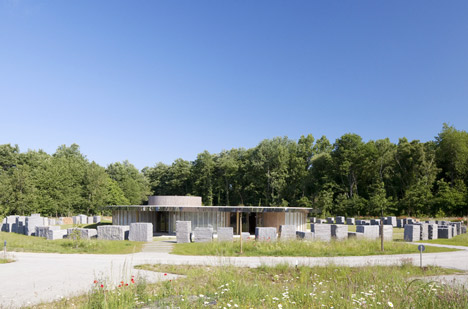 Rennes Metropole Crematorium by Plan01 Architects