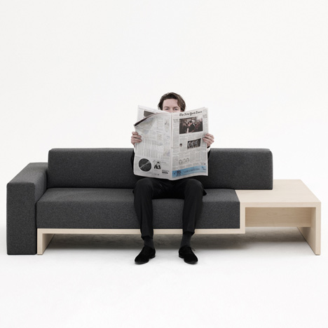 Slow Sofa by Frederik Roije