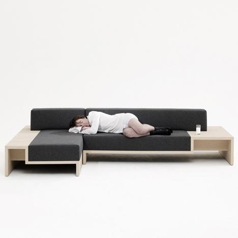 Slow Sofa by Frederik Roije