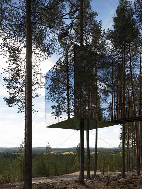 Tree Hotel by Tham and Videgard Arkitekter