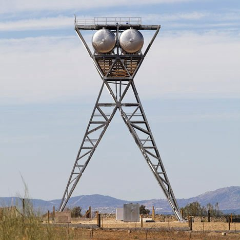 Water Storage Tower by GRG Arquitectos