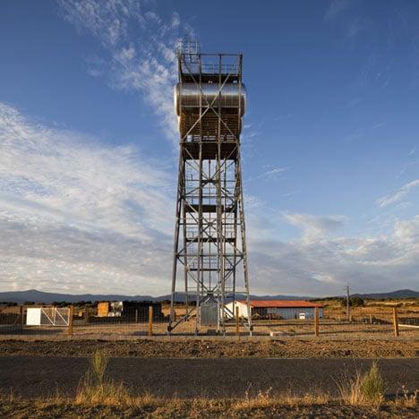 Water Storage Tower by GRG Arquitectos