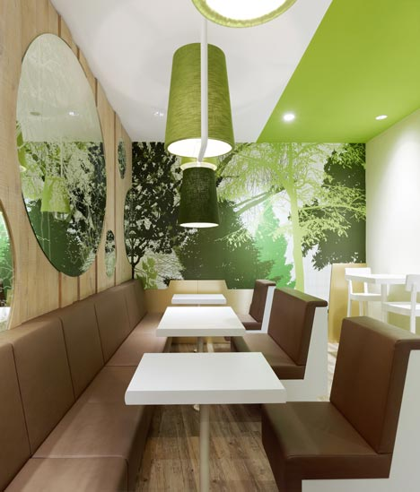 Wienerwald restaurant by Ippolito Fleitz Group