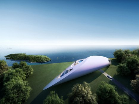 Prototype villa for golf and spa club, Dubrovnik by Zaha Hadid Architects