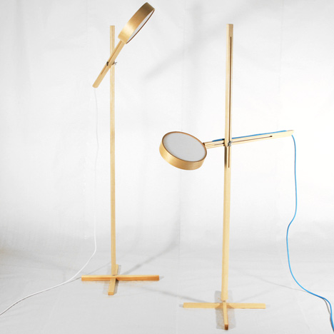 Axis Lamp, Tech Chair and Buddy by Bao-Nghi Droste