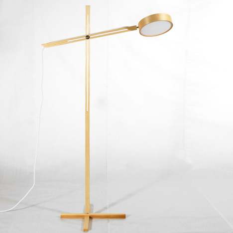 Axis Lamp by Bao-Nghi Droste