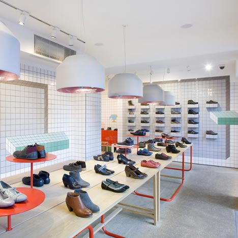 Camper store in London by Tomás Alonso