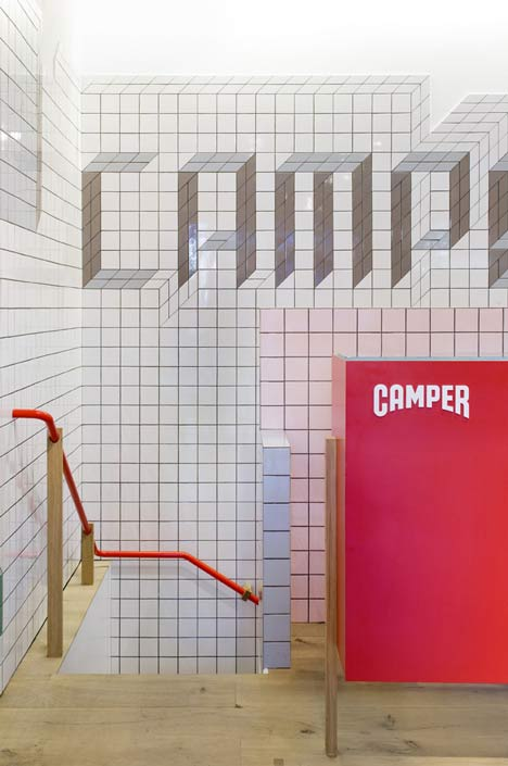 Camper store in London by Tomas Alonso