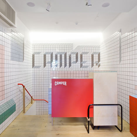 Camper store in london by tom s alonso dezeen Bathroom design jobs london