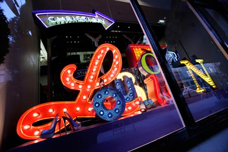 Christian Louboutin Mount Street Window by Studio XAG