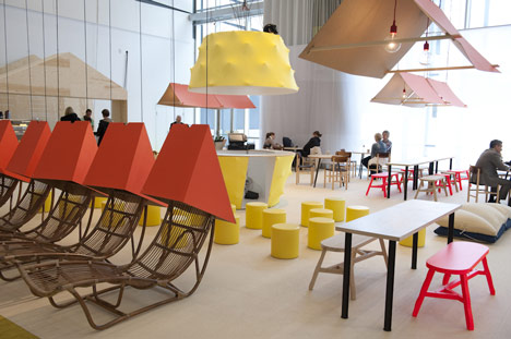 Design Bar at Stockholm Furniture Fair by Katrin Greiling