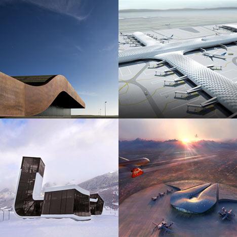 Dezeen archive - airports