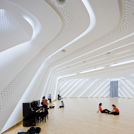 Guangzhou Opera House by Zaha Hadid Architects