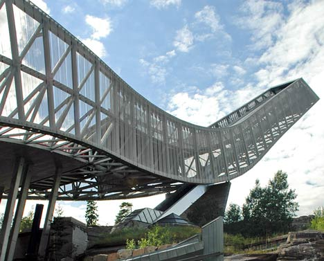 Holmenkollen ski jump by JDS Architects