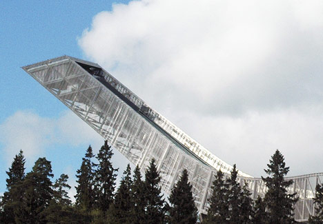 Holmenkollen ski jump by JDS Architects