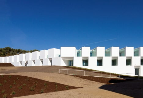 House for elderly people by Aires Mateus Arquitectos