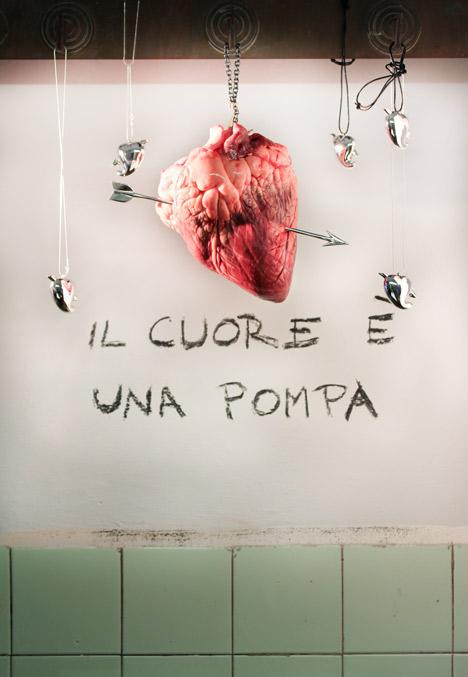 Il cuore e una pompa by Pampaloni