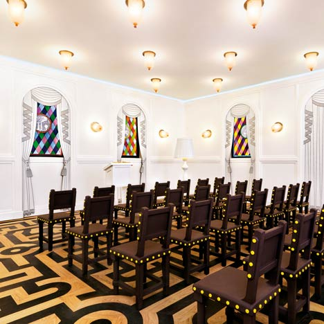 Job Lounge at the Groninger Museum by Studio Job