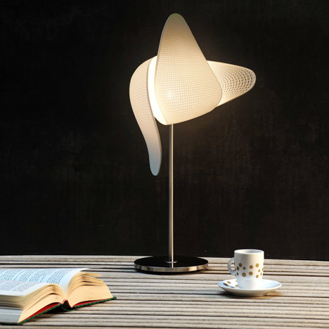Gamete.MGX lamp by Xavier Lust