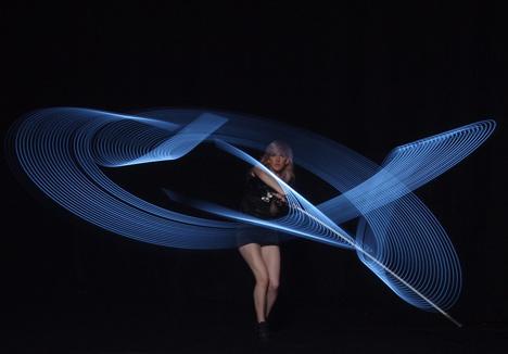 Moritz Waldemeyer lasers for Lights by Ellie Goulding
