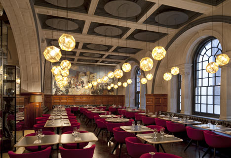New Royal Academy Restaurant by Design Research Studio